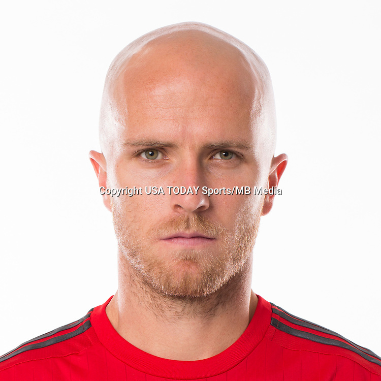 Feb 25, 2016; USA; Toronto FC player Michael Bradley poses for a photo. Mandatory Credit: USA TODAY Sports