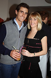 The EARL COMPTON he is the son and heir of the Marquess of Northampton and his sister LADY EMILY COMPTON at a party to celebrate the opening of children's store Chippi Hacki at 8 Motcomb Street, London, SW1 on 24th November 2004.<br />