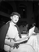 10/05/1955<br /> 05/10/1955<br /> 10 May 1955<br /> N.A.I.D.A. Annual Fashion Parade at the Gresham Hotel, Dublin.