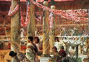 Caracalla and Geta' 1907 by Lawrence Alma-Tadema (1836-1912)by the Dutch-born Victorian painter Lawrence Alma-Tadema English Classicist English Painter (1836-1912)
