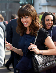 LIVERPOOL, ENGLAND - Friday, April 9, 2010: Actress Sheree Murphy, who is married to former Liverpool player Harry Kewell, attends Ladies' Day during the second day of the Grand National Festival at Aintree Racecourse. (Pic by David Rawcliffe/Propaganda)