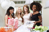 Friends Together at Bridal Shower