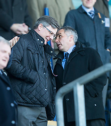 Hearts Director of Football Craig Levein.<br /> Falkirk 0 v 3 Hearts, Scottish Championship game played 21/3/2015 at The Falkirk Stadium.