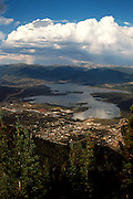 View of Frisco & Lake Dillon from Mt Royal