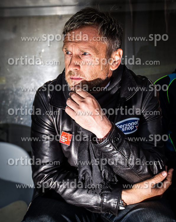 19.04.2014, Tivoli Stadion, Innsbruck, AUT, 1. FBL, FC Wacker Innsbruck vs SC Wiener Neustadt, 33. Runde, im Bild Trainer Michael Streiter (Innsbruck) // Trainer Michael Streiter (Innsbruck) during Austrian Football Bundesliga 33th round match between FC Wacker Innsbruck and SC Wiener Neustadt at the Tivoli Stadion in Innsbruck, Austria on 2014/04/19. EXPA Pictures © 2014, PhotoCredit: EXPA/ JFK