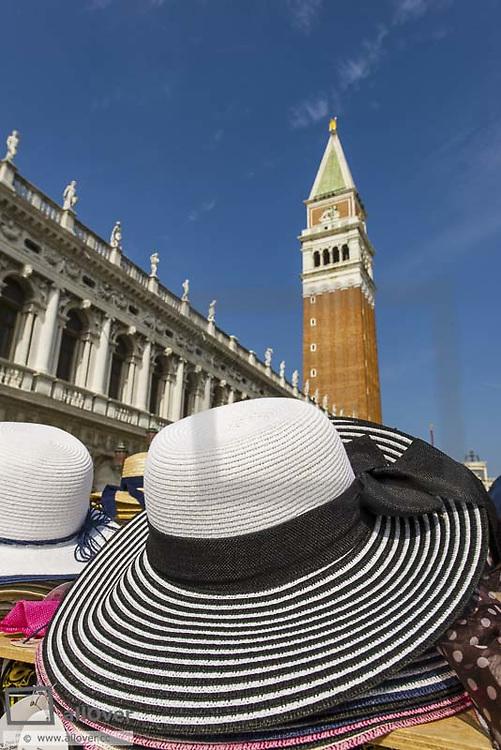Campanile, Piazzetta San Marco, Venice, Venetia, Italy