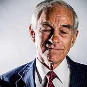 US Rep. Ron Paul (R-TX) poses for a portrait in his office on Thursday, August 2nd, 2012 in Washington. (Photo by Jay Westcott/Politico)