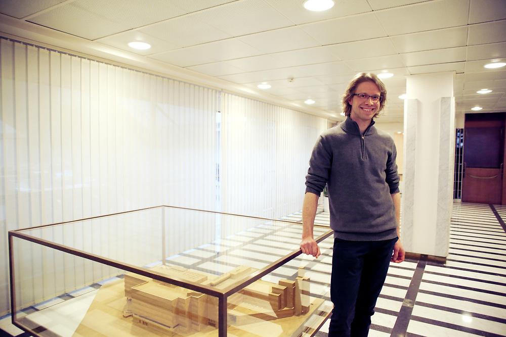 Miska Simanaienen, chercheur et concepteur du projet Perustulo, Kela, Helsinki