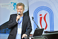 Andrzej Piatek (Sport's Director of Polish Cycling Association) speaks during conference of olympic trainers and coaches at COS (Centralny Osrodek Sportowy) in Spala on May 14, 2014.<br /> <br /> Poland, Spala, May 14, 2014<br /> <br /> Picture also available in RAW (NEF) or TIFF format on special request.<br /> <br /> For editorial use only. Any commercial or promotional use requires permission.<br /> <br /> Mandatory credit:<br /> Photo by © Adam Nurkiewicz / Mediasport
