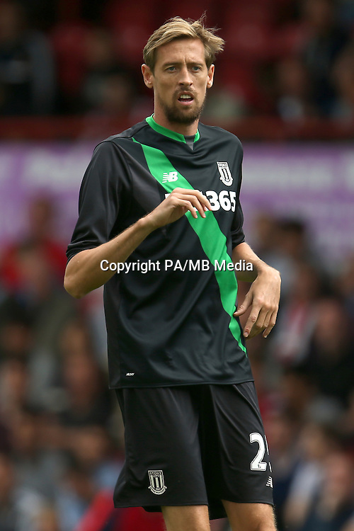 Stoke City's Peter Crouch
