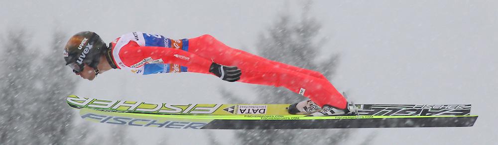 31.12.2011, Olympia Skisprungschanze, Garmisch Partenkirchen, GER, 60. Vierschanzentournee, FIS Ski Sprung Weltcup, Training, im Bild Vincent DESCOMBES SEVOIE (FRA) // Vincent DESCOMBES SEVOIE (FRA) during a practice session of 60th Four-Hills-Tournament FIS World Cup Ski Jumping at Olympia Skisprungschanze, Garmisch Partenkirchen, Germany on 2011/12/31. EXPA Pictures © 2011, PhotoCredit: EXPA/ Sven Kiesewetter