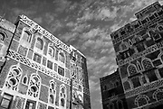 Yemen. Buildings together. Sanaa