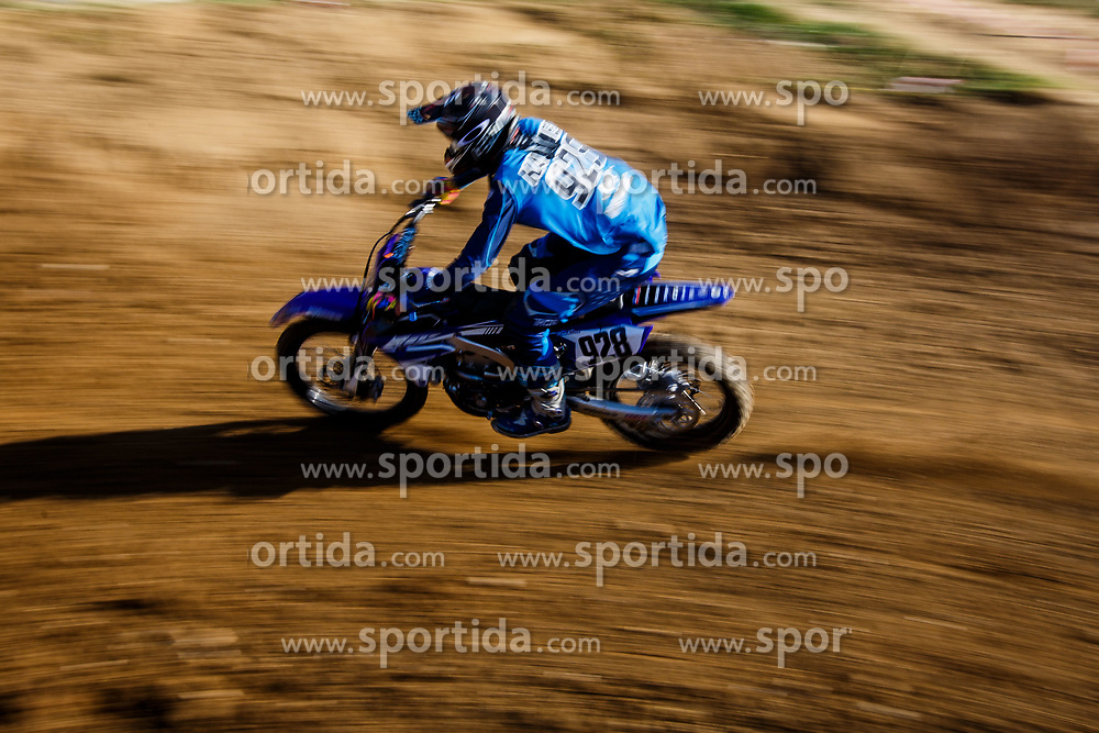 Ian Oskar Katanec #928 of Slovenia during motocross race for Slovenian national championship in Prilipe, Brezice, Slovenija on 9th of April, 2017, Slovenia. Photo by Grega Valancic / Sportida