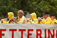 The Kettering Civic Band performs during the 2012 Holiday at Home Parade on Far Hills Avenue in Kettering, Monday, September 3, 2012.
