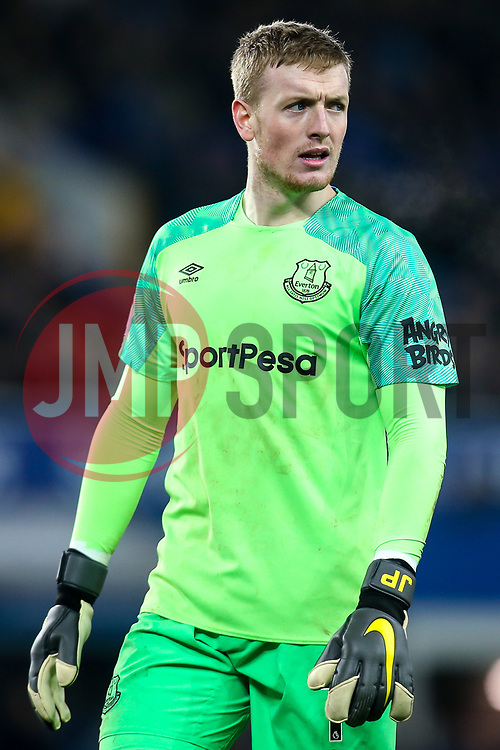 Jordan Pickford of Everton - Mandatory by-line: Robbie Stephenson/JMP - 06/02/2019 - FOOTBALL - Goodison Park - Liverpool, England - Everton v Manchester City - Premier League