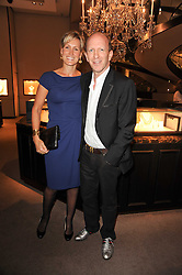 SIMON & SANTA SEBAG-MONTEFIORE at a party to celebrate the publication of Inheritance by Tara Palmer-Tomkinson at Asprey, 167 New Bond Street, London on 28th September 2010.