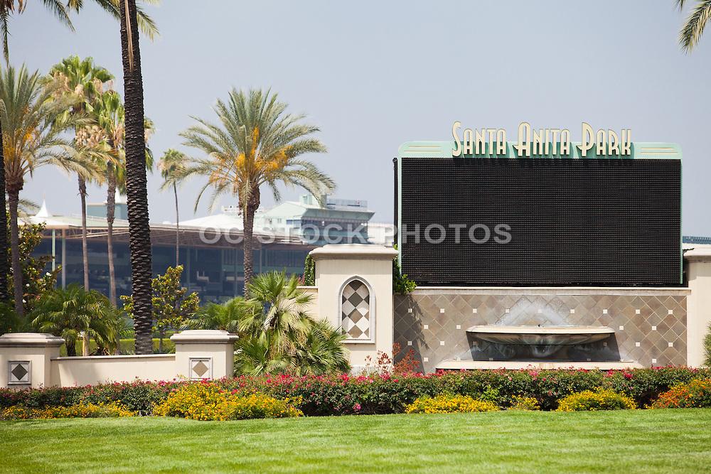 Santa Anita Park in Arcadia California