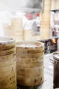 Preparing Xiaolongbao soup dumplings