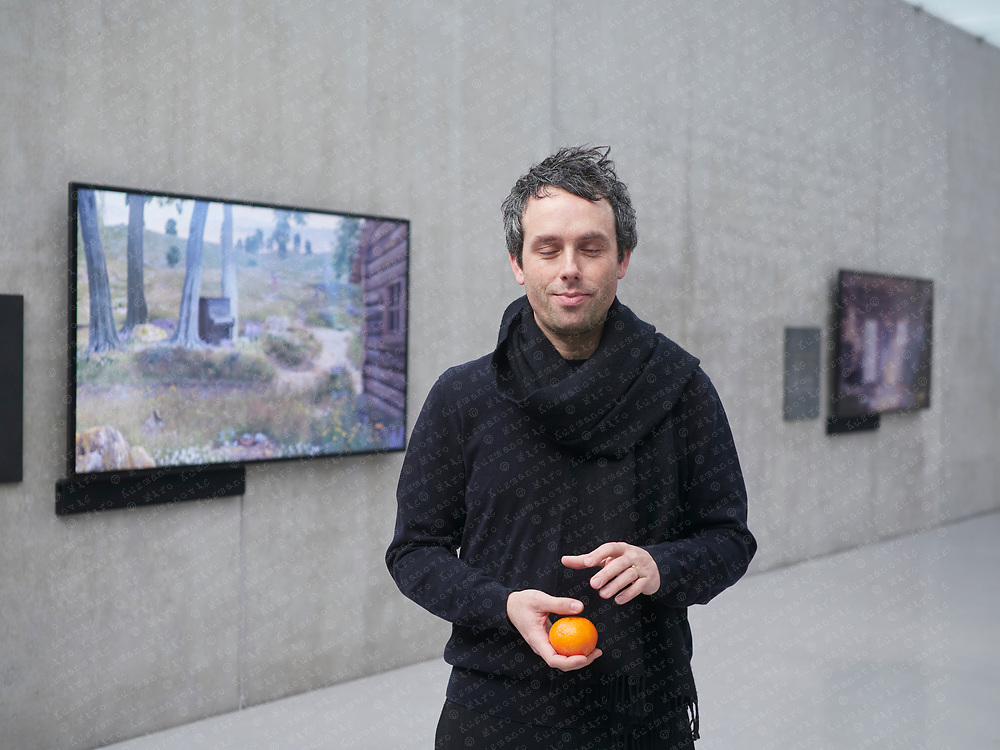 Ed Atkins a British contemporary artist best known for his video art and poetry.