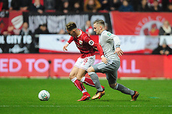 Josh Brownhill of Bristol City - Mandatory by-line: Dougie Allward/JMP - 20/12/2017 - FOOTBALL - Ashton Gate Stadium - Bristol, England - Bristol City v Manchester United - Carabao Cup Quarter Final