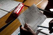 Belo Horizonte_MG, Brasil...Metodo de ensino para adultos na Escola Imaculada Conceicao...The method of adult education in the School Imaculada Conceicao...Foto: LEO DRUMOND / NITRO