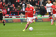 Barnsley forward Conor Chaplin (11) during the EFL Sky Bet Championship match between Barnsley and Middlesbrough at Oakwell, Barnsley, England on 22 February 2020.