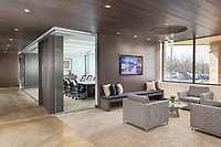 Interior design image of corporate offices of First Finish in Colubia MD by Jeffrey Sauers of CPI Productions