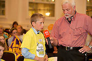 James Devaney St Patrick's National Calry, Sligo, at the Eason Spelling Bee in the Hotel Meyrick, Galway from where Ryan Tubridy's show was broadcast . Photo:Andrew Downes..