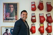 Boxing legend Oscar De La Hoya