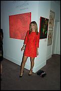 CHRISTINA TESSICINI, Sotheby's Frieze week party. New Bond St. London. 15 October 2014.