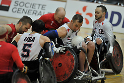 USA V Denmark at the 2016 IWRF Rio Qualifiers, Paris, France