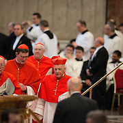 Images from the Mass for Cardinals celebrated prior to their entry into the Sistene Chapel for the Conclave that determines who becomes the new Pope.
