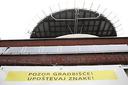 Construction of the General Hospital UKC Ljubljana - a new emergency department, on October 21, 2016 in Ljubljana, Slovenia. Photo by Vid Ponikvar / Sportida