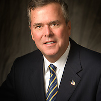Formal portrait of former Florida Governor Jeb Bush