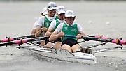 2006, U23 Rowing Championships, Hazewinkel, BELGIUM, IRL BM4+ Bow John McDONALD, Aiden McEVOY, Brian O'MAHONY, Patrick BAUM, and cox Mike GRIFFEN,  Thursday, 20.07.2006.  Photo  Peter Spurrier/Intersport Images email images@intersport-images.com....[Mandatory Credit Peter Spurrier/ Intersport Images] Rowing Course, Bloso, Hazewinkel. BELGUIM