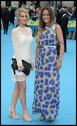 Olivia Newman Young and Francesca Newman Young arrives for the We're The Millers - European Film Premiere. Odeon, London, United Kingdom. Wednesday, 14th August 2013. Picture by Andrew Parsons / i-Images