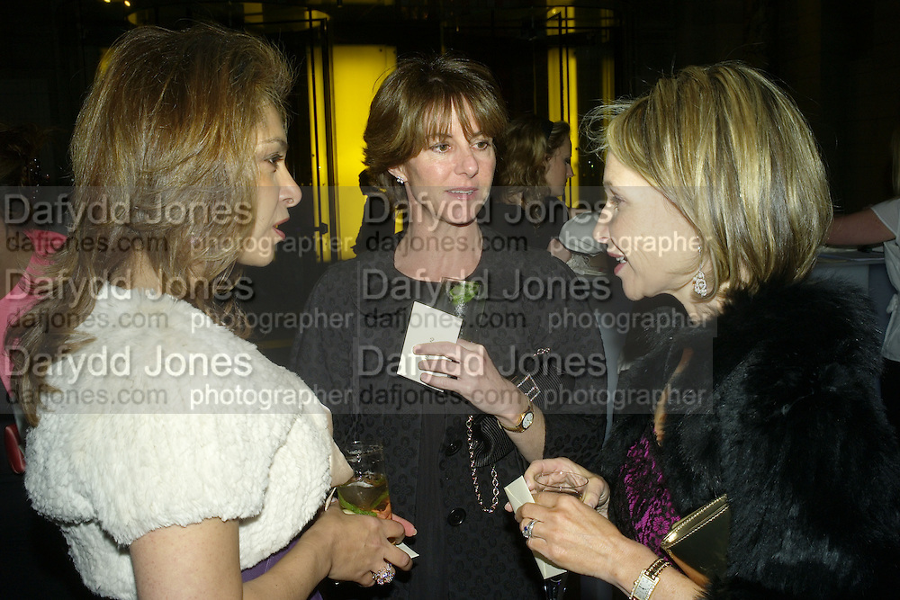 Women for Women International UK Gala Evening. V. & A. 29 April 2008.  *** Local Caption *** -DO NOT ARCHIVE-© Copyright Photograph by Dafydd Jones. 248 Clapham Rd. London SW9 0PZ. Tel 0207 820 0771. www.dafjones.com.