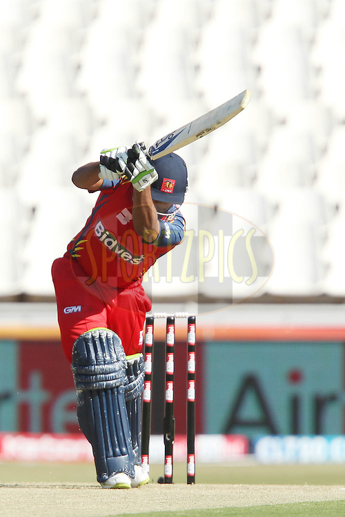 Jonathan Vandiar of the Highveld Lions  during match 14 of the Airtel CLT20 held between the Lions and Guyana at The Wanderers Stadium in Johannesburg on the 19 September 2010..Photo by: Ron Gaunt/SPORTZPICS/CLT20
