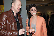 , ROBERT LESLIE; JO FRASER2013 London Art Fair vip private view.  Business Design Centre, Upper Street, London, 15 January 2013