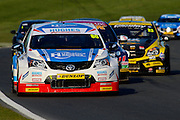 Tom Ingram in race 3 during the Dunlop MSA British Tour Car Championship at Brands Hatch (Indy), Fawkham, United Kingdom on 5 April 2015. Photo by Aaron Lupton.