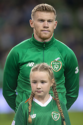November 15, 2018 - Dublin, Ireland - James McClean of Ireland during the International Friendly match between Republic of Ireland and Northern Ireland at Aviva Stadium in Dublin, Ireland on November 15, 2018  (Credit Image: © Andrew Surma/NurPhoto via ZUMA Press)