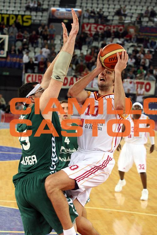 DESCRIZIONE : Roma Eurolega 2006-07 Lottomatica Virtus Roma Unicaja Malaga<br />GIOCATORE : Bodiroga<br />SQUADRA : Lottomatica Virtus Roma<br />EVENTO : Eurolega 2006-2007 <br />GARA : Lottomatica Virtus Roma Unicaja Malaga<br />DATA : 29/11/2006 <br />CATEGORIA : Tiro<br />SPORT : Pallacanestro <br />AUTORE : Agenzia Ciamillo-Castoria/G.Ciamillo