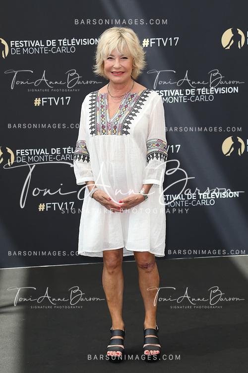 "MONTE-CARLO, MONACO - JUNE 17:  Marie Vincent attends photocall for ""En Famille"" on June 17, 2017 at the Grimaldi Forum in Monte-Carlo, Monaco.  (Photo by Tony Barson/FilmMagic)"