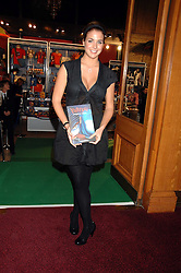 Model GEMMA ATKINSON at the gala night of Varekai by Cirque du Soleil at The Royal Albert Hall, London on 8th January 2008.<br />