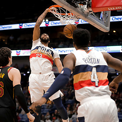 01-09-2019 Cleveland Cavaliers at New Orleans Pelicans