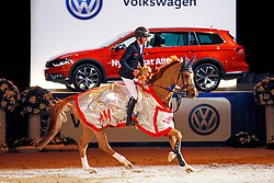 Allen Bertram, (IRL), Quiet Easy 4<br /> Swedish International Horse Show 2015<br /> © Hippo Foto - Peter Zachrisson