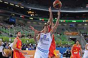 LUBIANA EUROBASKET 2013 16 SETTEMBRE 2013<br /> NAZIONALE ITALIANA MASCHILE<br /> ITALIA VS SPAGNA<br /> NELLA FOTO: ANDREA CINCIARINI<br /> FOTO CIAMILLO