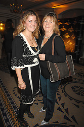Left to right, VINNIE DAY and her mother HET DAY at the Veuve Clicquot Business Woman Award held at The Berkeley Hotel, London on 8th April 2008.<br />