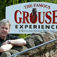 The Famous Grouse Experience..Glenturret Distillery<br />Derek Brown, Director of TFGE<br /><br />see press release from Alex Fitch on 01738 493614<br /><br />Picture by Graeme Hart.<br />Copyright Perthshire Picture Agency<br />Tel: 01738 623350  Mobile: 07990 594431