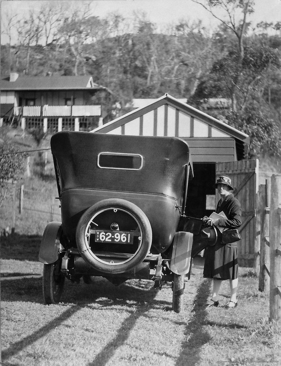 "Ready For an Outing, ""Working Man's Home"" Series, Australia, 1930"